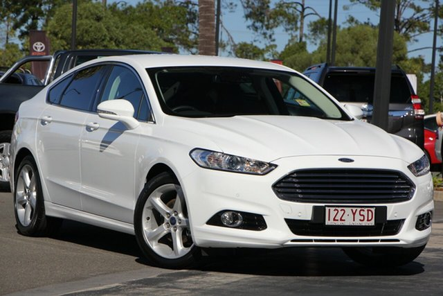 Demo Ford Mondeo MD 2018.75MY Trend PwrShift, 2018 Ford Mondeo MD 2018.75MY Trend PwrShift Frozen White 6 Speed Sports Automatic Dual Clutch
