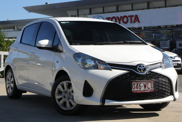 Used Toyota Yaris NCP130R MY15 Ascent, Yaris Ascent 1.3L Petrol Automatic 5 Door Hatch
