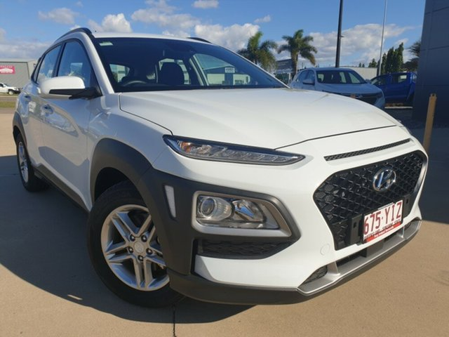 Used Hyundai Kona OS MY18 Active 2WD, 2017 Hyundai Kona OS MY18 Active 2WD White 6 Speed Sports Automatic Wagon