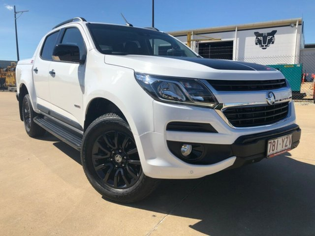 Used Holden Colorado RG MY19 Z71 Pickup Crew Cab, 2018 Holden Colorado RG MY19 Z71 Pickup Crew Cab White 6 Speed Sports Automatic Utility