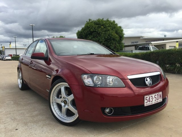 Used Holden Calais VE MY10 , 2010 Holden Calais VE MY10 Maroon 6 Speed Sports Automatic Sedan