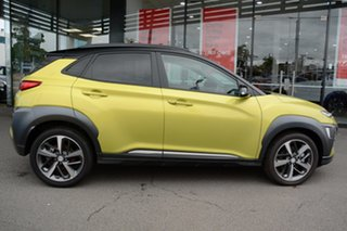 2019 Hyundai Kona OS.2 MY19 Highlander 2WD Acid Yellow & Black Roof 6 Speed Sports Automatic Wagon