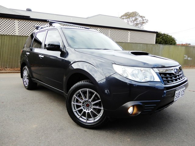 Used Subaru Forester S3 MY12 S-Edition AWD, 2011 Subaru Forester S3 MY12 S-Edition AWD Dark Grey 5 Speed Sports Automatic Wagon