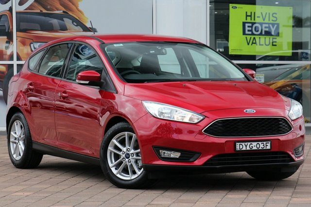Used Ford Focus LZ Trend, 2018 Ford Focus LZ Trend Red 6 Speed Automatic Hatchback
