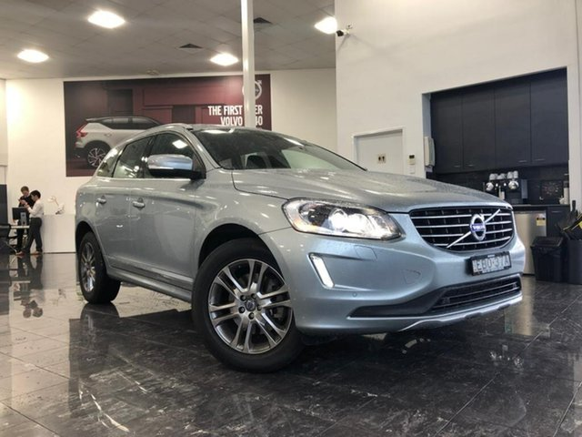 Used Volvo XC60 DZ MY14 D4 Geartronic Luxury, 2013 Volvo XC60 DZ MY14 D4 Geartronic Luxury Silver 6 Speed Sports Automatic Wagon