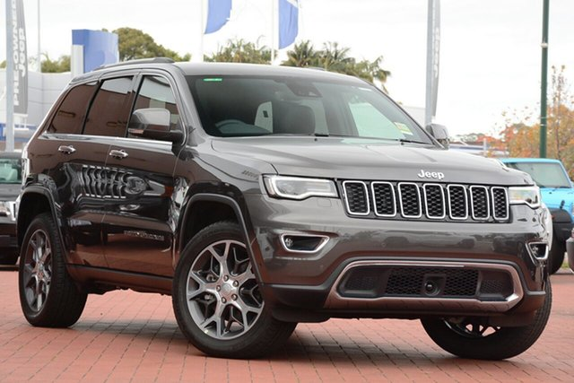 Used Jeep Grand Cherokee WK MY19 Limited, 2019 Jeep Grand Cherokee WK MY19 Limited Granite Crystal Metallic 8 Speed Sports Automatic Wagon