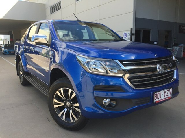 Used Holden Colorado RG MY18 LTZ Pickup Crew Cab, 2018 Holden Colorado RG MY18 LTZ Pickup Crew Cab Blue 6 Speed Sports Automatic Utility