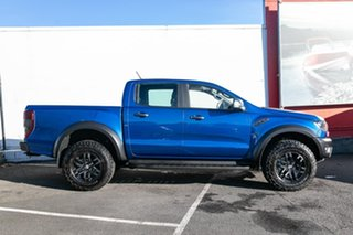 2018 Ford Ranger PX MkIII 2019.00MY Raptor Pick-up Double Cab Blue 10 Speed Sports Automatic Utility
