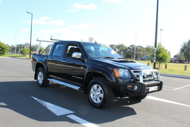 Used Holden Colorado RC MY09 LT-R Crew Cab, 2009 Holden Colorado RC MY09 LT-R Crew Cab Black 4 Speed Automatic Utility