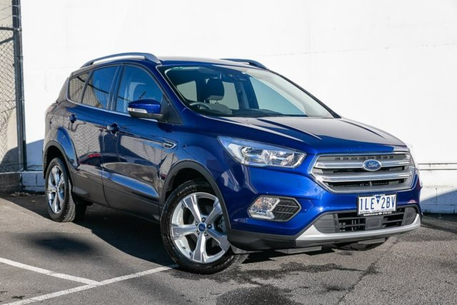 Used Ford Escape ZG Trend 2WD, 2017 Ford Escape ZG Trend 2WD Blue 6 Speed Sports Automatic Wagon