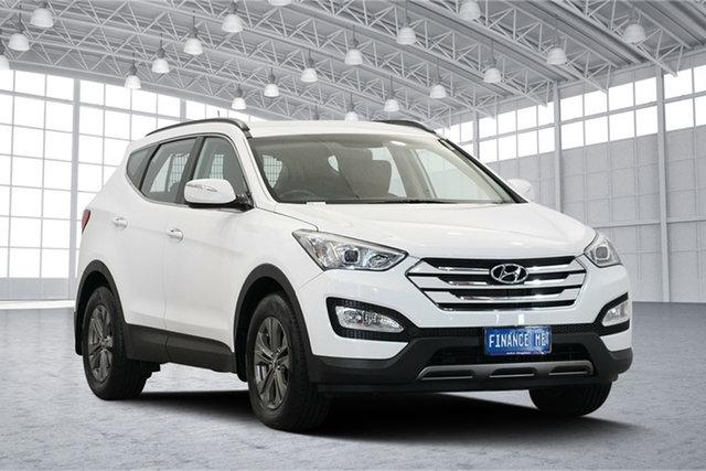 Used Hyundai Santa Fe DM MY13 Active, 2013 Hyundai Santa Fe DM MY13 Active Creamy White 6 Speed Sports Automatic Wagon