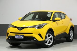 2018 Toyota C-HR NGX10R Update (2WD) Yellow Continuous Variable Wagon.