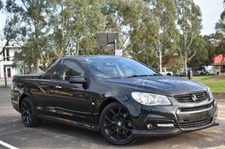 2014 Holden Ute VF MY14 SS Ute Black 6 Speed Manual Utility.