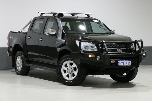 Used Holden Colorado RG MY15 LTZ (4x4), 2015 Holden Colorado RG MY15 LTZ (4x4) Black 6 Speed Manual Crew Cab Pickup