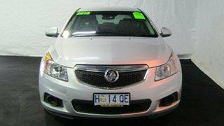 2013 Holden Cruze JH Series II MY13 CD Silver 6 Speed Sports Automatic Sedan.