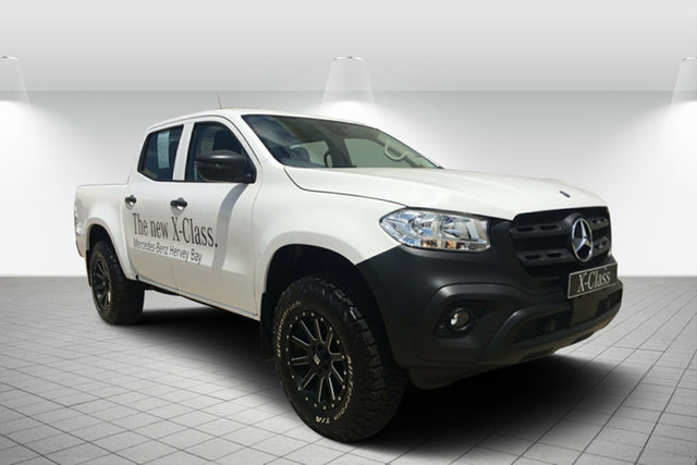 Used Mercedes-Benz X-Class 470 X250d 4MATIC Pure, 2018 Mercedes-Benz X-Class 470 X250d 4MATIC Pure Chisana White/ 7 Speed Sports Automatic Utility