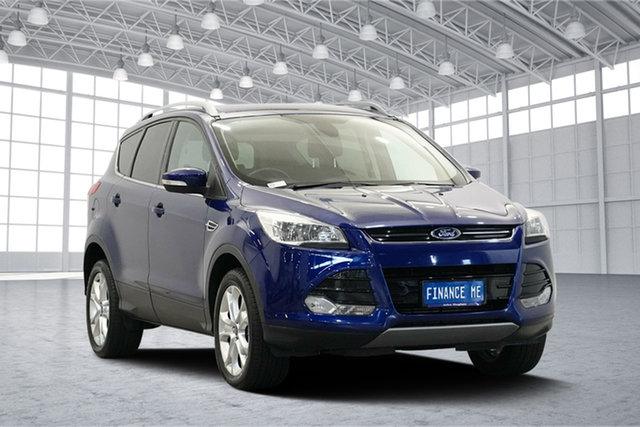 Used Ford Kuga TF MY15 Trend AWD, 2015 Ford Kuga TF MY15 Trend AWD Blue 6 Speed Sports Automatic Wagon