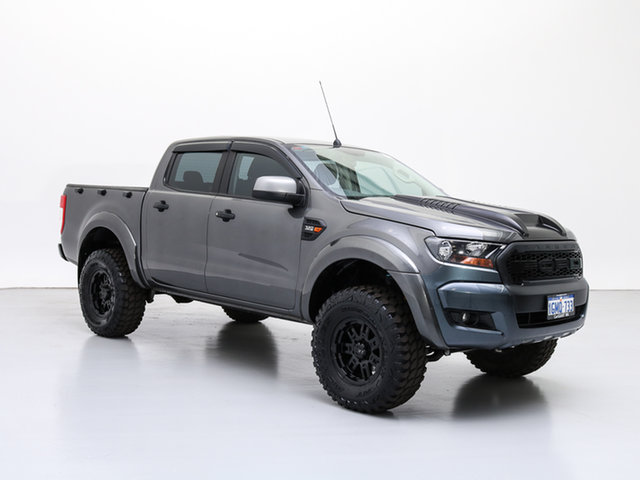 Used Ford Ranger PX MkII MY17 Update XLS 3.2 (4x4), 2017 Ford Ranger PX MkII MY17 Update XLS 3.2 (4x4) Grey 6 Speed Automatic Dual Cab Utility