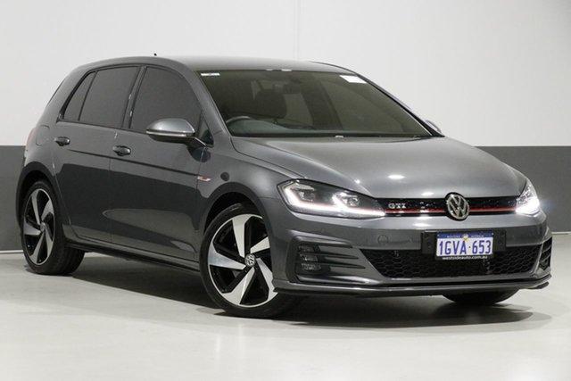 Used Volkswagen Golf AU MY18 GTi, 2017 Volkswagen Golf AU MY18 GTi Grey 6 Speed Direct Shift Hatchback