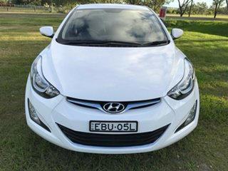 2014 Hyundai Elantra MD Series 2 (MD3) Trophy White 6 Speed Automatic Sedan