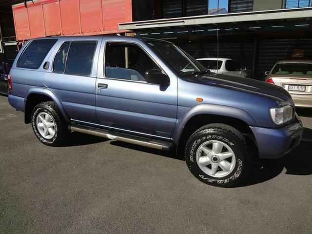 Used Nissan Pathfinder  ST (4x4), 2002 Nissan Pathfinder ST (4x4) Blue 4 Speed Automatic Wagon