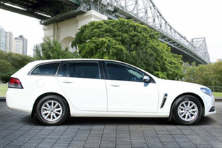 2013 Holden Commodore VF MY14 Evoke Sportwagon White 6 Speed Sports Automatic Wagon.