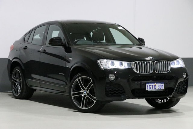 Used BMW X4 F26 MY16 xDrive 35D, 2017 BMW X4 F26 MY16 xDrive 35D Black Sapphire 8 Speed Automatic Coupe
