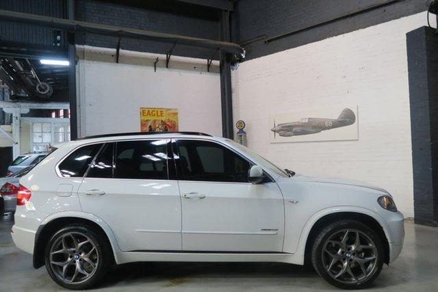 Used BMW X5 E70 MY10 xDrive48i Steptronic, 2009 BMW X5 E70 MY10 xDrive48i Steptronic White 6 Speed Sports Automatic Wagon