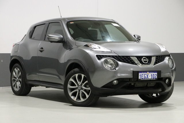 Used Nissan Juke F15 Series 2 TI-S (AWD), 2016 Nissan Juke F15 Series 2 TI-S (AWD) Grey Continuous Variable Wagon