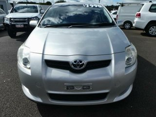2009 Toyota Corolla ZRE152R MY09 Ascent Sterling Silver 6 Speed Manual Hatchback.