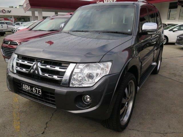Used Mitsubishi Pajero NX MY15 Exceed, 2014 Mitsubishi Pajero NX MY15 Exceed Grey 5 Speed Sports Automatic Wagon