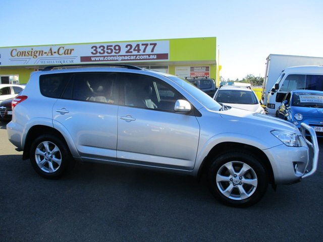 Used Toyota RAV4 GSA33R MY09 ZR6, 2010 Toyota RAV4 GSA33R MY09 ZR6 Silver 5 Speed Automatic Wagon
