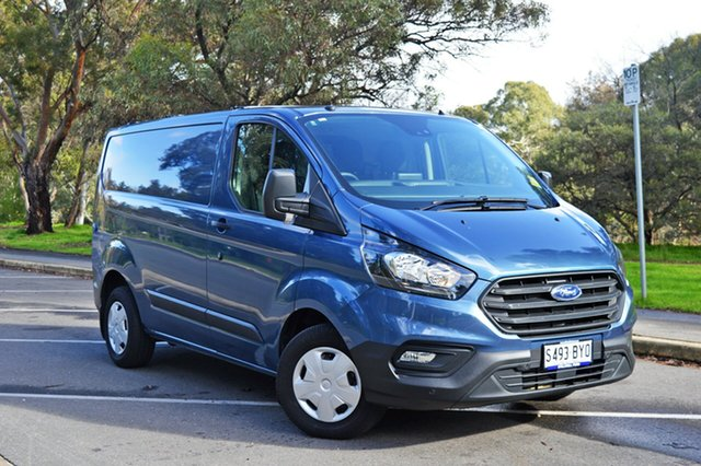 Used Ford Transit Custom VN 2018.5MY 300S Low Roof SWB, 2018 Ford Transit Custom VN 2018.5MY 300S Low Roof SWB Blue Metallic/matchi 6 Speed Manual Van