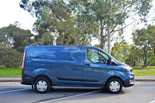 2018 Ford Transit Custom VN 2018.5MY 300S Low Roof SWB Blue Metallic/matchi 6 Speed Manual Van.