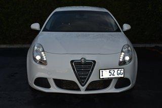 2014 Alfa Romeo Giulietta Series 1 Progression White 6 Speed Manual Hatchback.