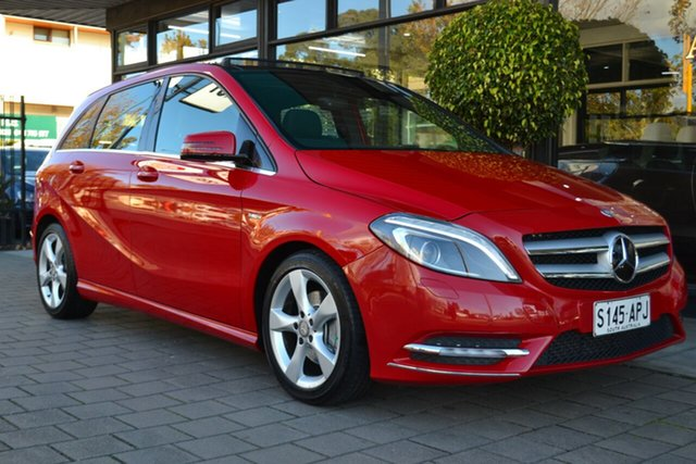 Used Mercedes-Benz B-Class W246 B200 CDI BlueEFFICIENCY DCT, 2012 Mercedes-Benz B-Class W246 B200 CDI BlueEFFICIENCY DCT Red 7 Speed Sports Automatic Dual Clutch