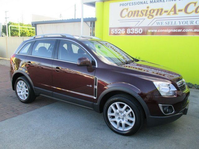 Used Holden Captiva CG Series II MY12 5, 2013 Holden Captiva CG Series II MY12 5 Burgundy 6 Speed Manual Wagon