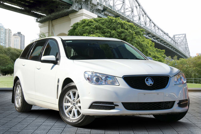 Used Holden Commodore VF MY14 Evoke Sportwagon, 2013 Holden Commodore VF MY14 Evoke Sportwagon White 6 Speed Sports Automatic Wagon