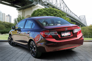 2014 Honda Civic 9th Gen Ser II MY14 Sport Red/Black 5 Speed Sports Automatic Sedan.