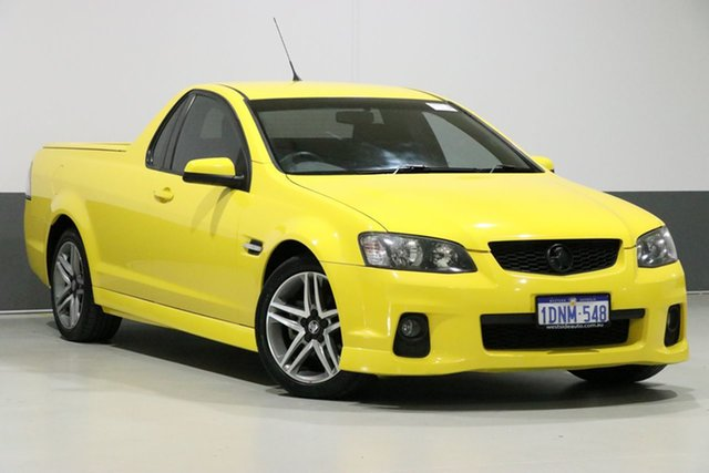 Used Holden Commodore VE II SV6, 2010 Holden Commodore VE II SV6 Yellow 6 Speed Manual Utility