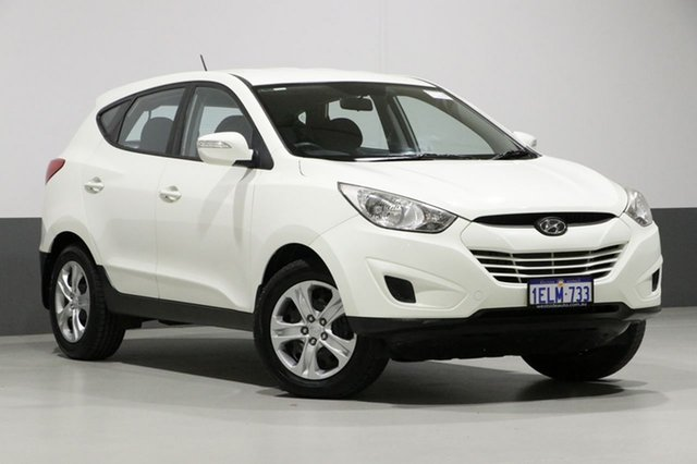 Used Hyundai ix35 LM MY11 Active (FWD), 2010 Hyundai ix35 LM MY11 Active (FWD) White 5 Speed Manual Wagon