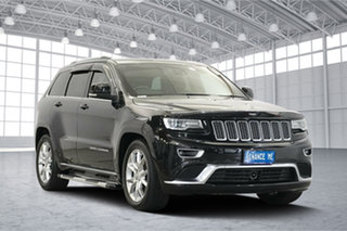 2016 Jeep Grand Cherokee WK MY15 Summit Black 8 Speed Sports Automatic Wagon.