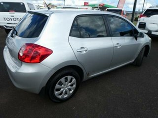 2009 Toyota Corolla ZRE152R MY09 Ascent Sterling Silver 6 Speed Manual Hatchback