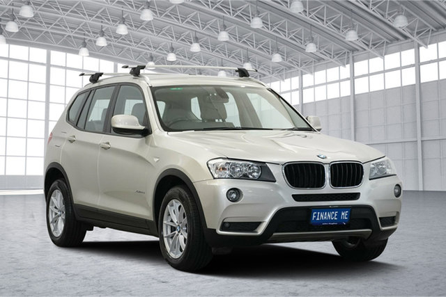 Used BMW X3 F25 xDrive20d Steptronic, 2011 BMW X3 F25 xDrive20d Steptronic Chrome 8 Speed Automatic Wagon