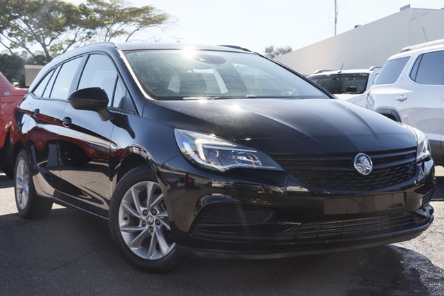 Used Holden Astra BK MY18 LS+ Sportwagon, 2017 Holden Astra BK MY18 LS+ Sportwagon Black 6 Speed Sports Automatic Wagon