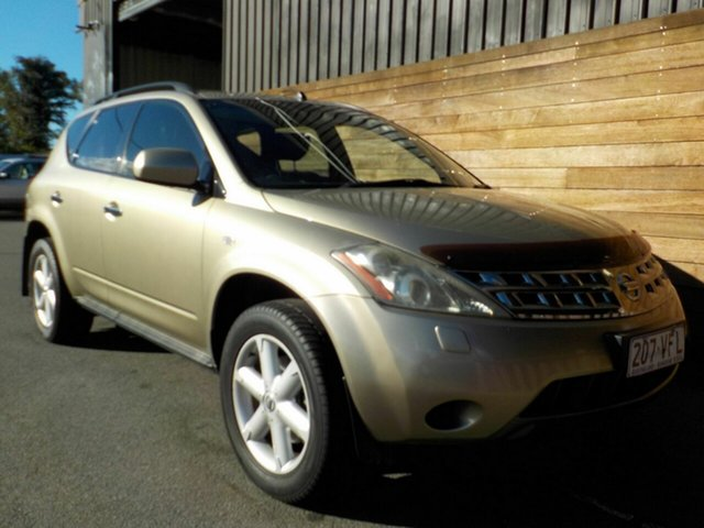Used Nissan Murano Z50 TI, 2006 Nissan Murano Z50 TI Gold 6 Speed Constant Variable Wagon