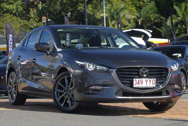 Demo Mazda 3 BN5238 SP25 SKYACTIV-Drive Astina, 2019 Mazda 3 BN5238 SP25 SKYACTIV-Drive Astina Machine Grey 6 Speed Sports Automatic Sedan