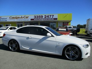 2011 BMW 320d E92 MY11 Steptronic White 6 Speed Sports Automatic Coupe.