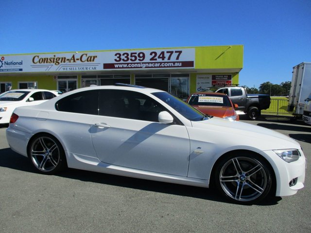 Used BMW 320d E92 MY11 Steptronic, 2011 BMW 320d E92 MY11 Steptronic White 6 Speed Sports Automatic Coupe