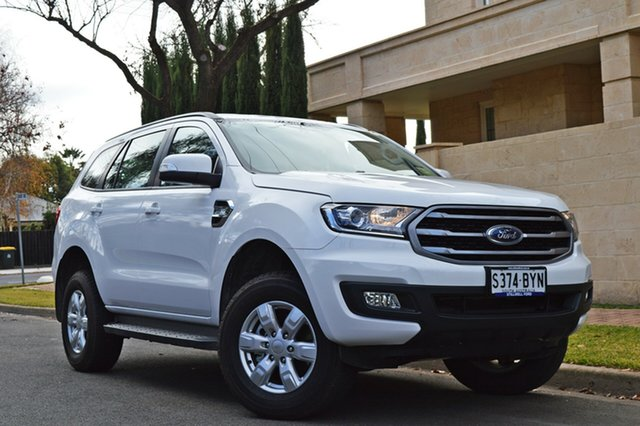 Used Ford Everest UA II 2019.00MY Ambiente RWD, 2018 Ford Everest UA II 2019.00MY Ambiente RWD Arctic White/ebony M 6 Speed Sports Automatic Wagon